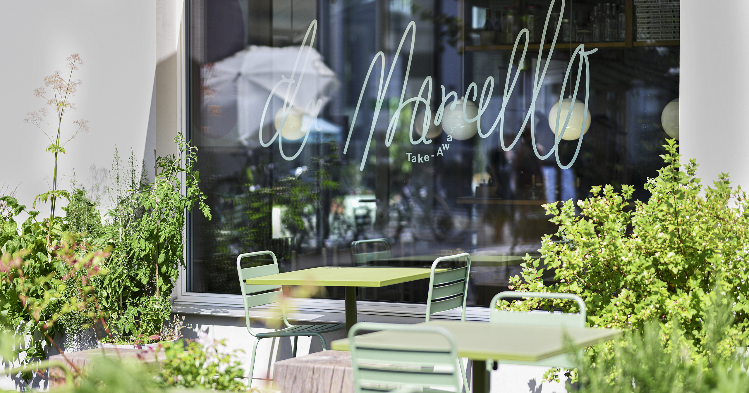 Pizzeria Da Marcello Terrasse